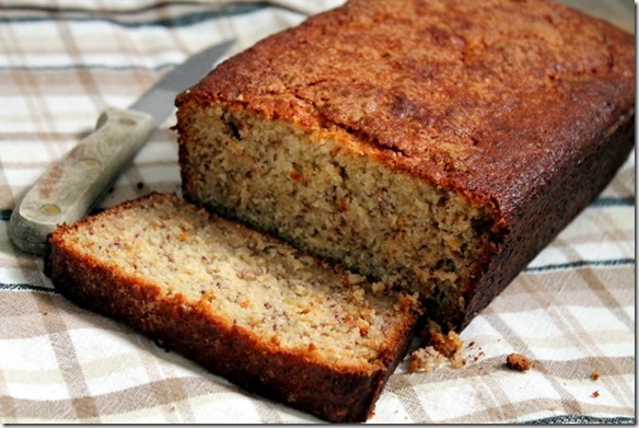 Cinnamon-Sugar Crusted Banana Bread