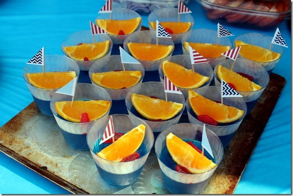 nautical jello boat cups
