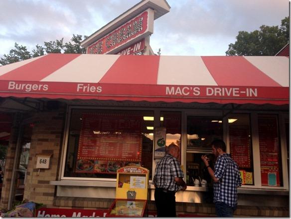 mac's drive in