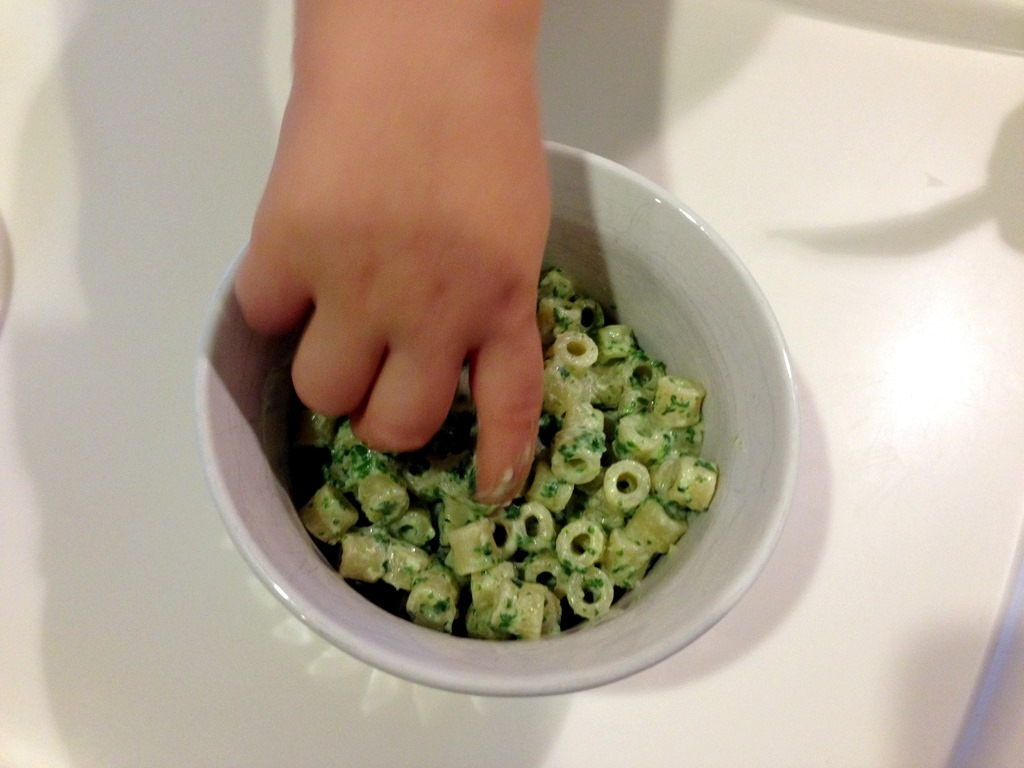 Healthy Toddler Meals Easy Cheesy Spinach Pasta