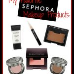 My Favorite Sephora Makeup Products