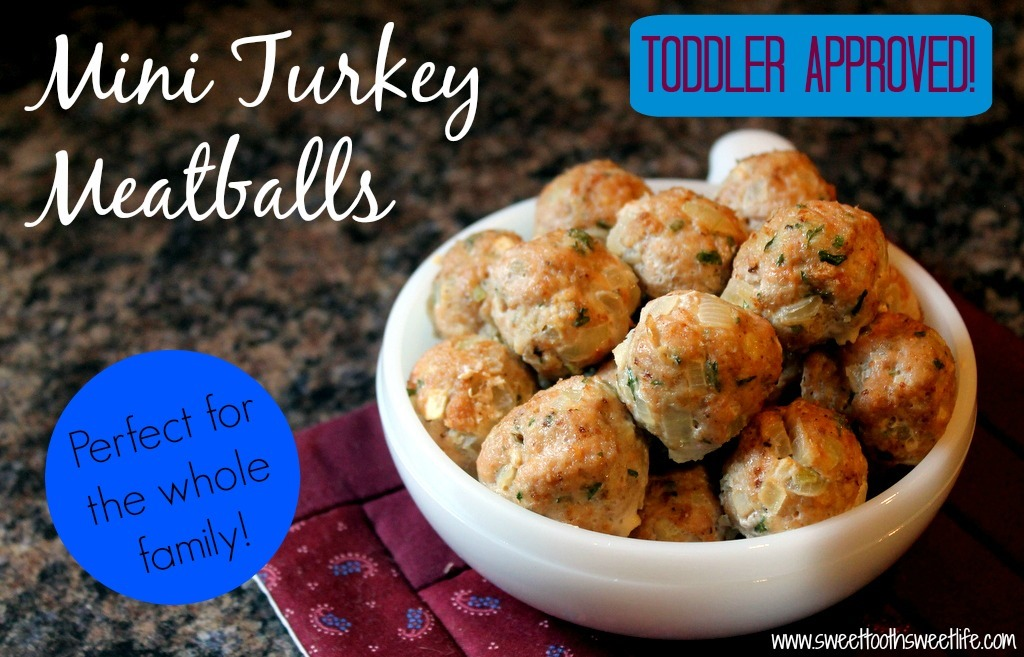 Mini turkey apple toddler meatballs forumfinder Image collections