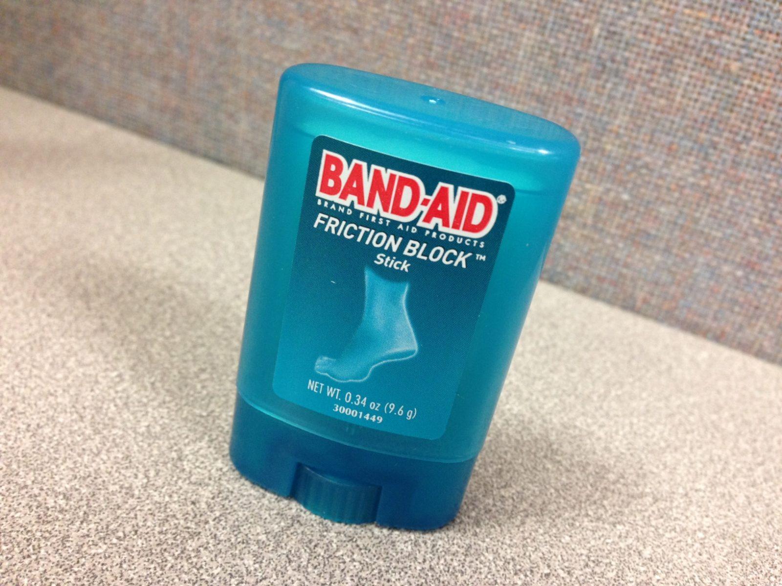 bandaid friction block stick