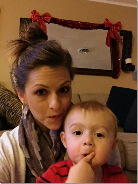 mom and lucas