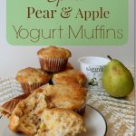 Spiced Pear & Apple Yogurt Muffins