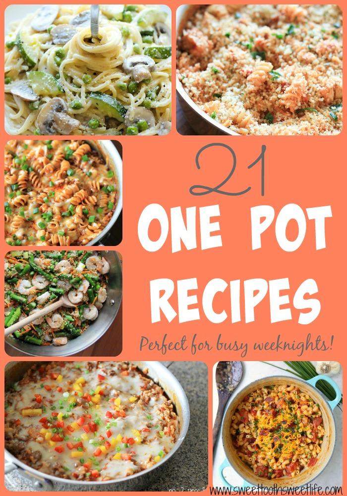 21 one pot meals