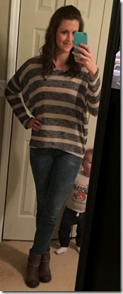PAPERMOON Delphina Striped Knit Top