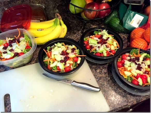 food prep salads