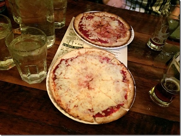 City Beer Hall Pizza