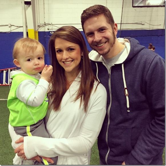 family soccer tots