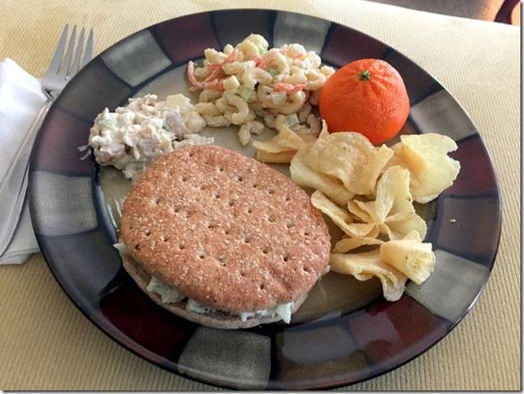 chicken salad lunch