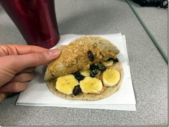 flatout breakfast sandwich