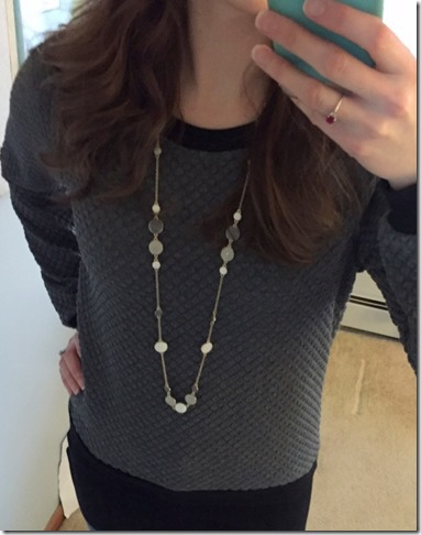 Noir Luxe necklace