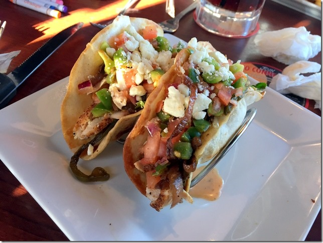 ruby tuesday chicken tacos