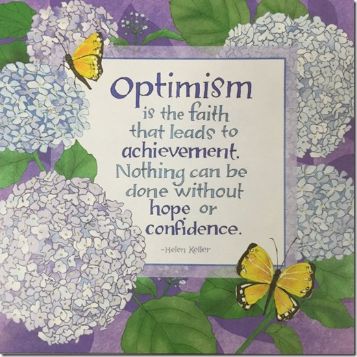 optimism quote