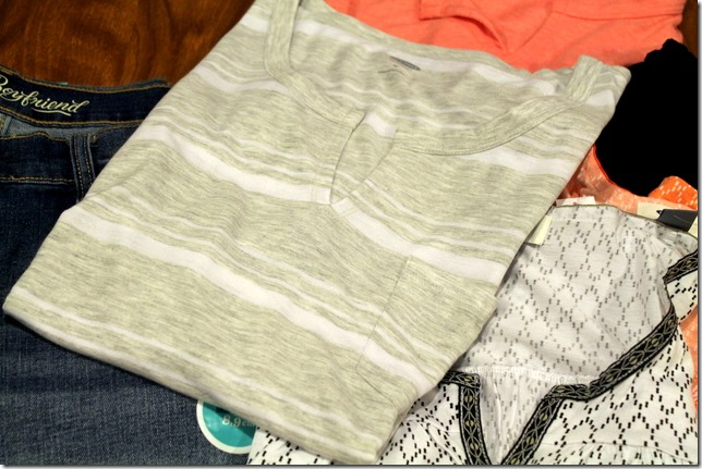 old navy womens striped top