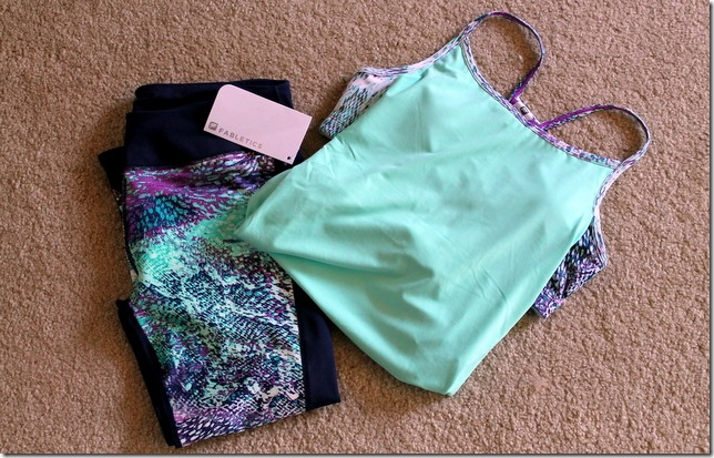 fabletics workout apparel