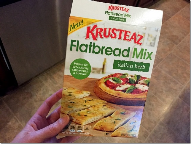 krusteaz flatbread mix