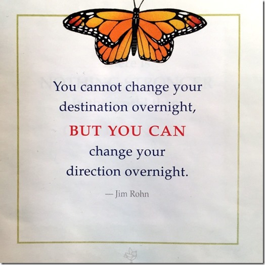 you cannot change overnight
