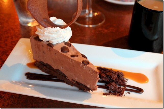 Malted Chocolate Caramel Torte
