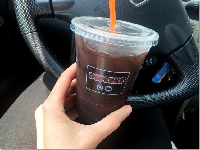 Oreo iced coffee
