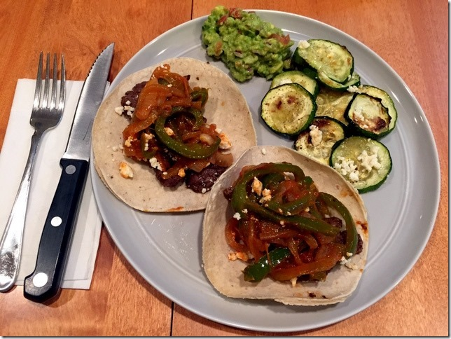 steak fajitas blue apron