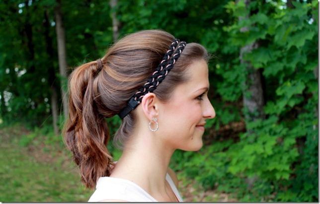CALIA Double Braided Twist Headband
