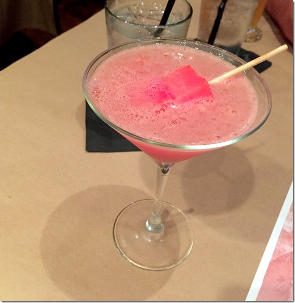 Fresh Watermelon Icicle Aphrodisiac Martini