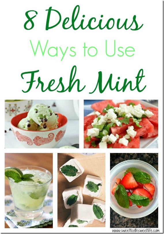 ways to use fresh mint