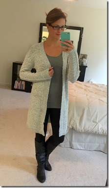 RD STYLE Chara Open Cardigan
