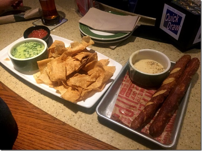 applebees appetizers