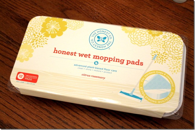 the honest co wet mopping pads