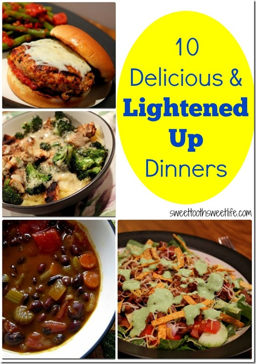 lighter dinner recipes