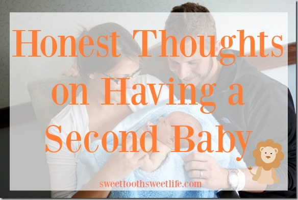 Honest thoughts on having a second baby