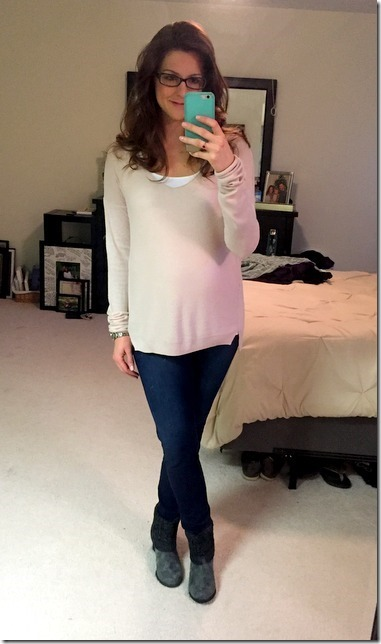 OOTD 19 weeks pregnant