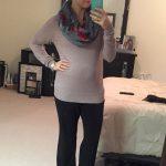 OOTD: 19-20 Weeks Pregnant