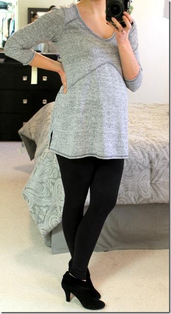 Carlile Brushed Trapeze Maternity Knit Top Stitch Fix