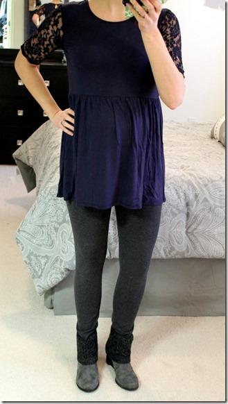 Ailene Lace Sleeve Maternity Knit Top Stitch Fix