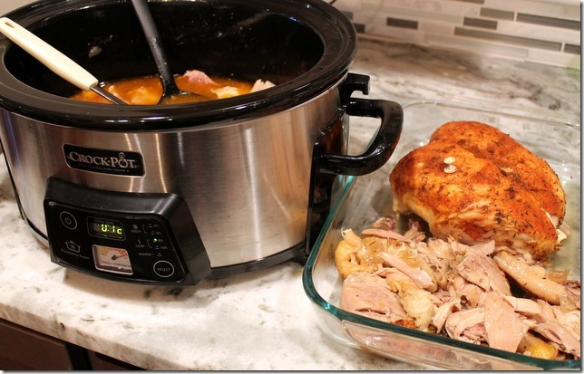 Easy Crockpot Whole Chicken