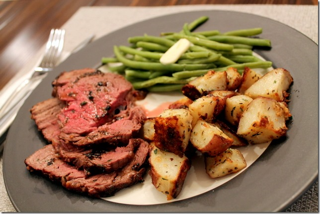 since its valentines day and all we decided to splurge a little with a delicious cut of grass fed beef tenderloin for dinner - Valentines Dinners