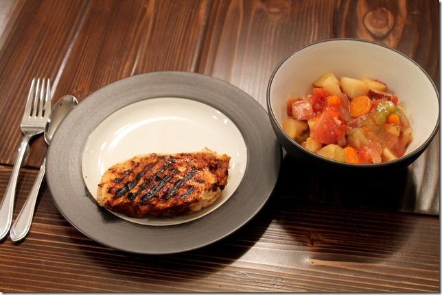 Low-Fat Crockpot Veggie Stew