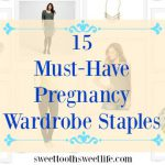 15 Pregnancy Wardrobe Staples + $50 Kohl's Gift Card Giveaway!