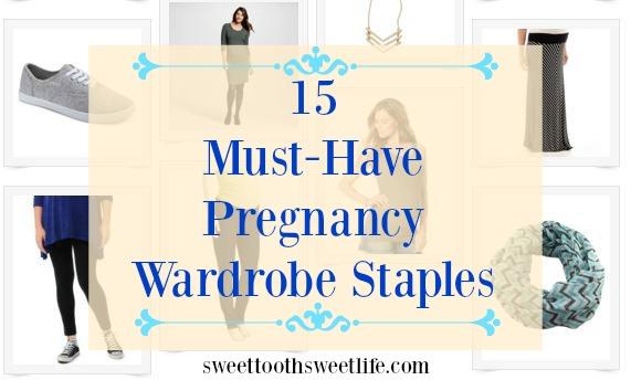 pregnancy wardrobe staples