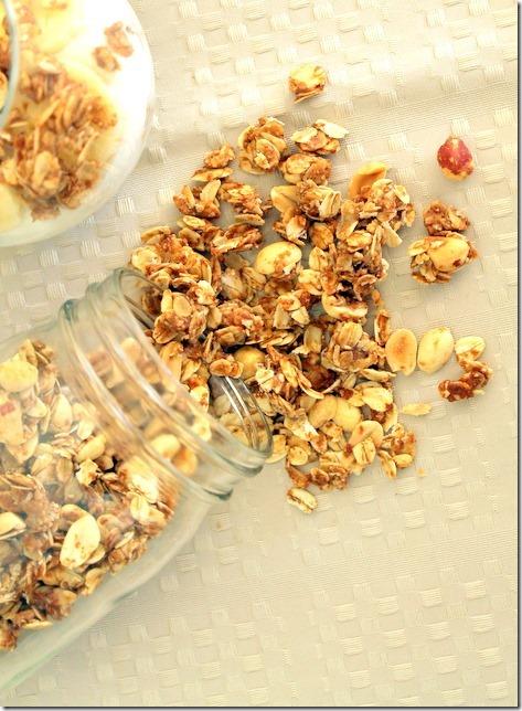 Peanut Butter Granola Parfaits