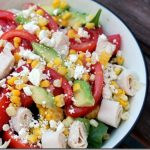 Tomato, Corn, Avocado, and Feta Salad + Recent Eats