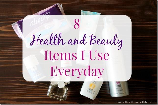 8 health and beauty items I use everyday