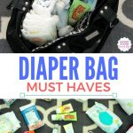 What I Keep Stocked In My Diaper Bag