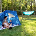 Pretend Camping and A Weekend At Home