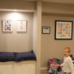 Basement Makeover: The Almost Finished After!