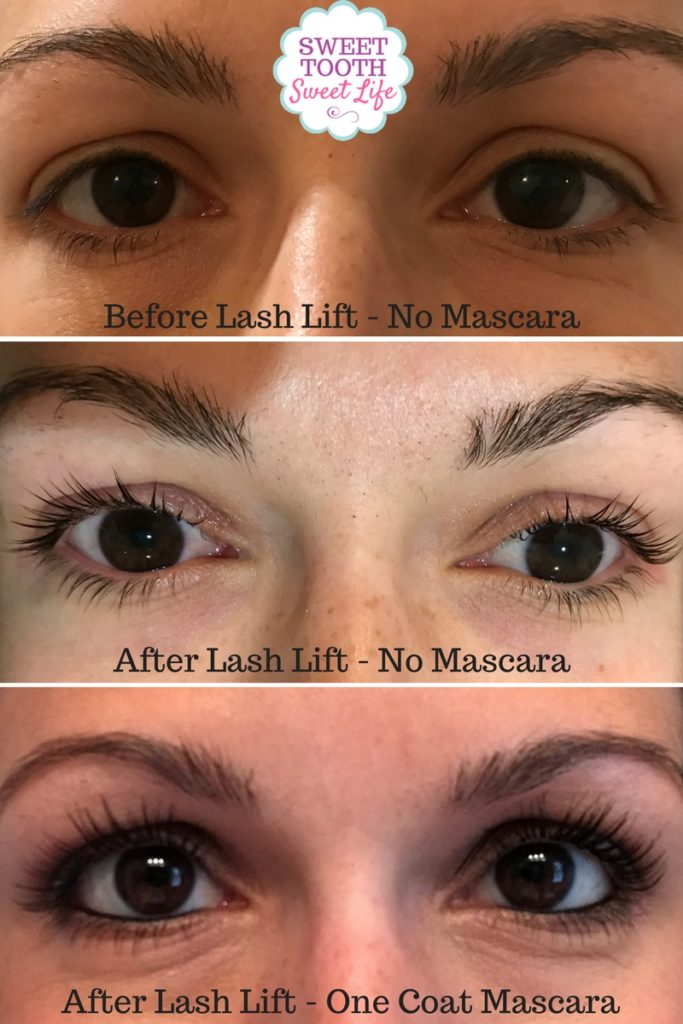 My Experience With Lash Lift Before And After Photos